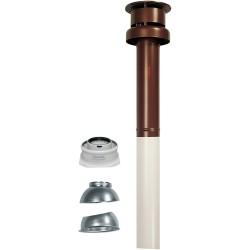 Комплект коаксиального дымохода Ø 60/100 мм, вертикальный